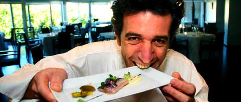 Cooking show com o chef espanhol Pepe Solla