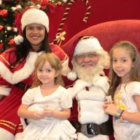Papai Noel chega nos shoppings neste sábado