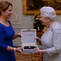 Um prêmio à Rainha Elizabeth II