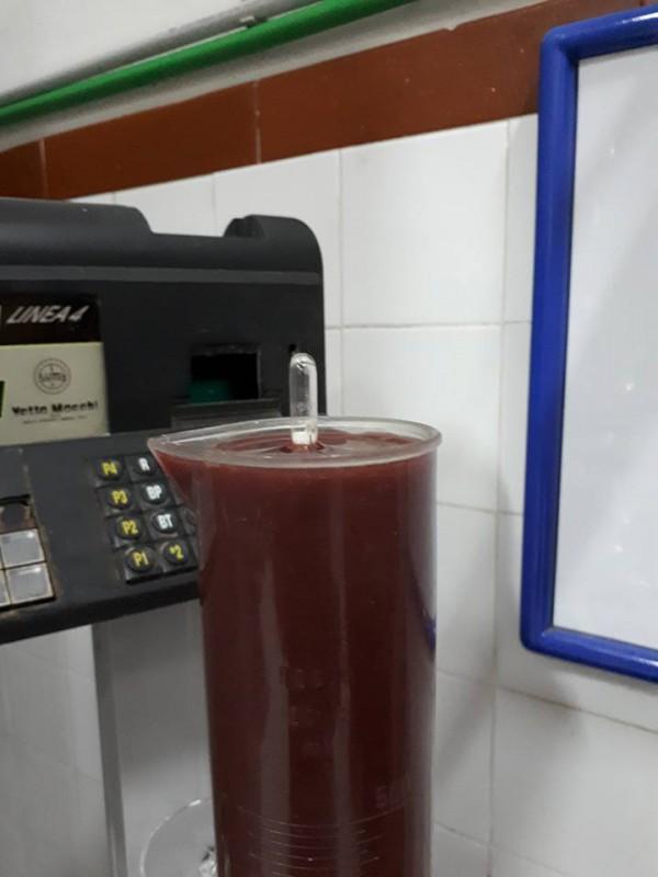 avaliação do consumo do açúcar pelas leveduras